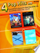 4 Pop Hits Issue 1 For Big Note Piano
