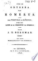 Over de Odyssea van Homerus