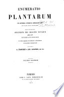 Enumeratio plantarum in Japonia