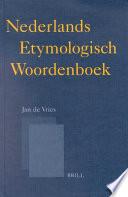 Nederlands Etymologisch Woordenboek
