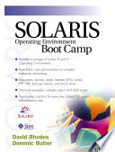Solaris Operating Environment Boot Camp
