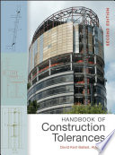 Handbook Of Construction Tolerances