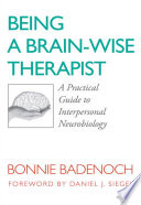 Being a Brain Wise Therapist  A Practical Guide to Interpersonal Neurobiology  Norton Series on Interpersonal Neurobiology