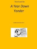 download ebook novel unit for a year down yonder pdf epub