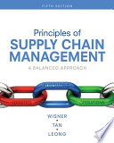 Principles of Supply Chain Management  A Balanced Approach