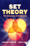 Set Theory  The Structure of Arithmetic