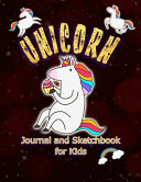 Unicorn Journal And Sketchbook For Kids
