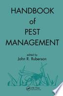 Handbook Of Pest Management book