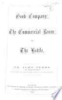 Good Company  the Commercial Room  and  the Bottle Book PDF