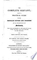The Complete Servant Book PDF