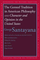 The Genteel Tradition in American Philosophy