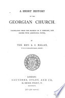 A Short History of the Georgian Church