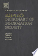 Elsevier s Dictionary of Information Security