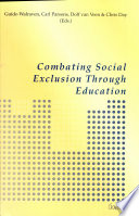 Combating Social Exclusion Through Education