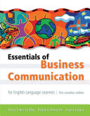 Essentials of Business Communication for English Language Learners