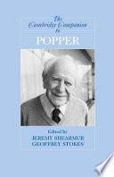 The Cambridge Companion to Popper