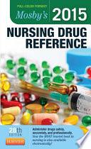 Mosby's 2015 Nursing Drug Reference