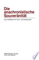 Die anachronistische Souveränität