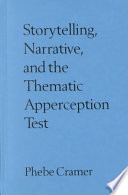 Storytelling  Narrative  and the Thematic Apperception Test
