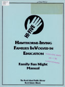 Hawthorne Irving Families Involved in Education  HI five  Book PDF