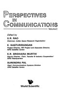 Perspectives In Communications book