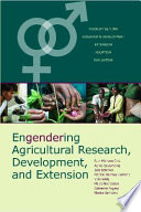 Engendering Agricultural Research, Development and Extension