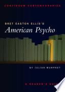 Bret Easton Ellis S American Psycho book