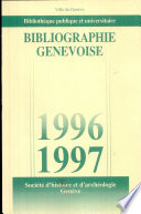 Bibliographie genevoise