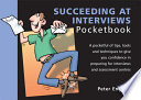 Succeeding At Interviews Pocketbook