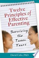 Twelve Principles of Effective Parenting