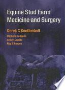 Equine Stud Farm Medicine   Surgery