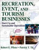 Recreation  Event  and Tourism Businesses