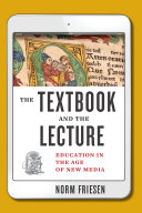 The Textbook and the Lecture
