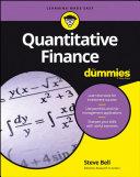 download ebook quantitative finance for dummies pdf epub