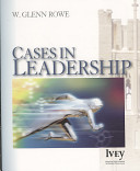 Bundle  Leadership Theory and Practice  Fourth Edition and Cases in Leadership