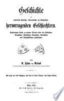 Die Dynasten, Freiherren und jetzigen Grafen von Bocholtz