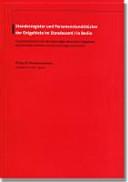 Standesregister und Personenstandsbücher der Ostgebiete im Standesamt I in Berlin