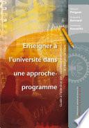 Enseigner    l universit   dans une approche programme