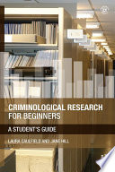 Criminological Research For Beginners