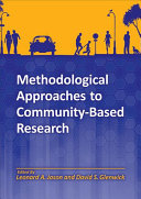Methodological Approaches to Community based Research
