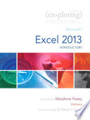 Exploring Microsoft Excel 2013  Introductory