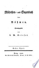 Mährchen- und Sagenbuch der Böhmen