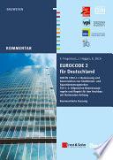 Eurocode 2 F R Deutschland Kommentierte Fassung