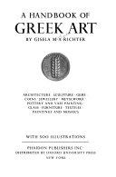A Handbook of Greek Art