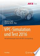 VPC – Simulation und Test 2016