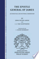 The Epistle General of James