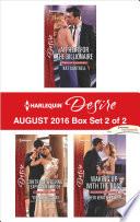 Harlequin Desire August 2016   Box Set 2 of 2
