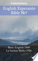 English Esperanto Bible No7