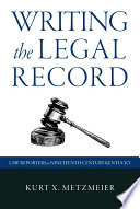 Writing the Legal Record