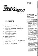 The Biblical Archaeology Review